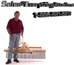Everything Attachments Compact Tractor Landscape Rake